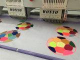 Tajima computerisierte 6 Farbesequin-Stickerei-Maschinen-China-Preis der Kopf-12