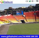 Grand panneau de l'Afficheur LED P10 dans le match de football extérieur
