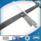 電流を通された鋼鉄材料の中断された天井フレームT棒