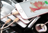 La fábrica de China de nilón aisló el cable del USB del relámpago de 8 Pin para el teléfono celular y las tablillas