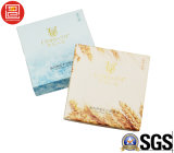 Rectángulo de lujo de la tarjeta de papel para el rectángulo del jabón con el empaquetado cosmético del producto de la base y de la tapa