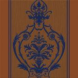 Papel pintado profundamente realzado resistente de la raya de humedad (HM20807)