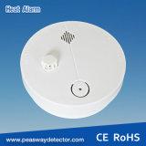 Alarm van de Hitte van Peasway voldoet Stand-Alone/Detector van de Hitte aan de Norm van Ce RoHS (pw-560)