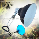 "150W E27 8.5"" UL Terrarium Reptile Lamp with Clamp Glow Light"