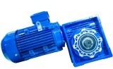 Output ShaftのNmrv Series Worm Gearbox Geared Motor