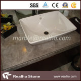 Stone moderno Solid Polished Surface Bathroom Vanity Top com GV Certificate