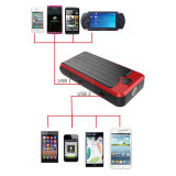 Gasoline Car를 위한 12000mAh/14000mAh/16000mAh Portable Mini Car Jump Starter Power 은행 황소 T6