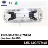 Lumières claires de police de la couleur rouge DEL de dôme (ROUGE de TBD-GA-810C-90CM)