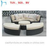 Кровать Sun отдыха мебели ротанга мебели сада (CF683)