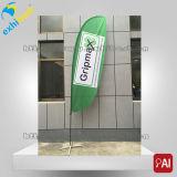 La clavette polychrome de plage marque des drapeaux