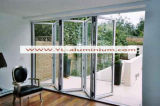 AluminiumProfile für Folding Door mit Laminated Glass