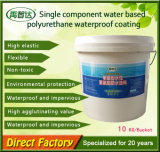 Capa impermeable del poliuretano del Solo-Componente de la alta calidad de la azotea nana del edificio