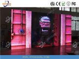 Indicador de diodo emissor de luz de alumínio de fundição portátil interno de P5 HD para o arrendamento