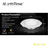 4-Zone 2.4G HF 12W Rgbww Recessed LED Lights Downlight