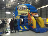 Slide、Inflatable Comboの熱いSale Cheap Inflatable Minions Jumping Bouncer