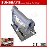 Nuevo tipo línea de sequía hornilla de la pintura automotora de la hornilla del conducto
