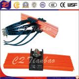 Isolierungs-flexibles elektrisches Hauptleitungsträger-System für elektrische Hebevorrichtung