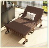 大型のソファーベッドまたは病院用ベッドかゲストのベッド(190*120cmブラウンカラー)