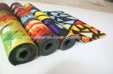 Microfiber ha stampato la stuoia di sport della stuoia di yoga di ginnastica della gomma naturale