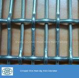 Roestvrij staal van uitstekende kwaliteit 304 het Geplooide Netwerk van de Draad
