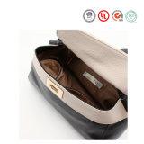 Handtassen Whd1605-40 van de Prijzen van het Leer van de Zwerver van de Kleur van vrouwen de Verse Echte Concurrerende