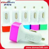Chargeur escamotable gauche de véhicule de Gadgat 3 mobiles USB de téléphone cellulaire