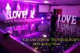 DEL 2015 Dance Floor pour la décoration de mariage et d'usager