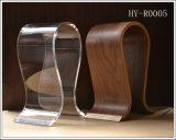 Soporte de acrílico o de madera popular del auricular (HY-YXA0029)