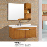 Mirror를 가진 지면 Standing Wood Material Bathroom Vanity