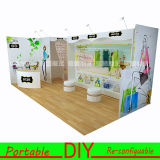 Modular portatile Reusable Tradeshow Display Exhibition per Clothes