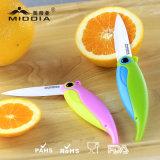 Articles promotionnels/cadeau de Noël pour le couteau/fourches/la trousse d'outils se pliants en céramique de fruit
