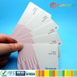 Sola tarjeta ultraligera del boleto MIFARE C del metro del sistema del viaje