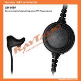 Auriculares do microfone do osso da orelha com o Ptt grande para Ep450/PRO2150