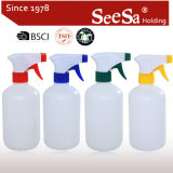 500ml Mist Plastic PE Sprayer Bottle/Hand Pressure Trigger Sprayer (SX-308)