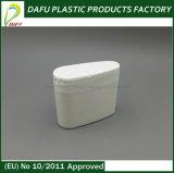 Bottiglia di plastica bianca della gomma da masticare del PE 60ml