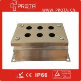 Imperméabiliser la petite boîte de jonction de l'acier inoxydable 304 316