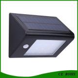 Éclairage LED solaire du mur 20 de jardin de détecteur de PIR avec du ce et le RoHS