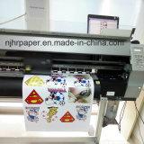 Vinil/película solventes Printable do papel de transferência térmica do plutônio Eco para o vestuário/Sportswear escuros