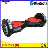 Individu de deux roues équilibrant de mini roues du scooter deux d'Unicycle électrique de scooter, scooter intelligent d'équilibre de mains librement