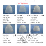 Fokusfresnel-Objektiv der freies Beispiel-HDPE Material-10.5mm (HW8002-2)