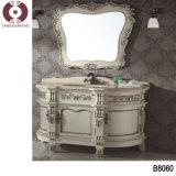 Module de salle de bains en bois solide (B8063)