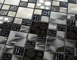 2016 Wllの装飾(FYMG029)のための最新のステンレス鋼のモザイク・タイル