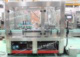 Máquina de enchimento líquida automática do vinho do frasco de vidro de vinho da vodca