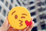 Côté mignon portatif populaire de vente chaud de pouvoir du modèle 2600mAh Emoji USB
