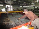 Tagliatrice dello strato del piatto d'acciaio di CNC della fiamma del plasma del laser