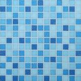 Mosaico de cristal azul de los azulejos de mosaico del material de construcción para la piscina