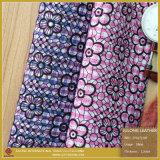 Blumen-Muster-Drucken PU-Leder für Schuhe (CF017120E)