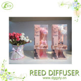 Diffuser a lamella Glass Bottle con Beautiful Flower