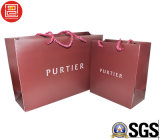 Saco de papel de impressão/saco de portador, saco de compra com o logotipo impresso, saco do papel da forma/Plastic/PVC de portador do presente