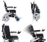 1-Second di qualità superiore che piega sedia a rotelle elettrica con lo schienale registrabile